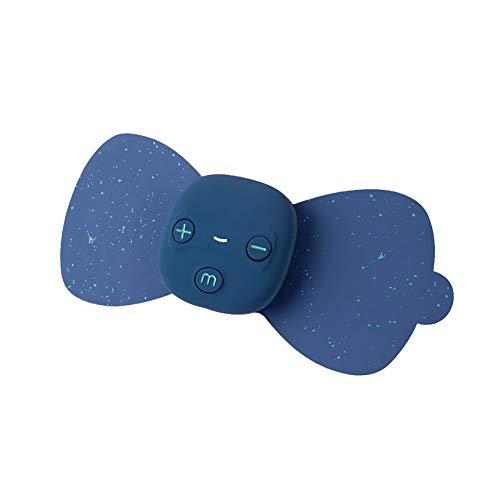 ZUEN USB Elektrische Niederfrequenzstrom Pulsmassagegerät Pads Für Schulter Nacken Taille Arm Beine Massage Entspannung, Blau