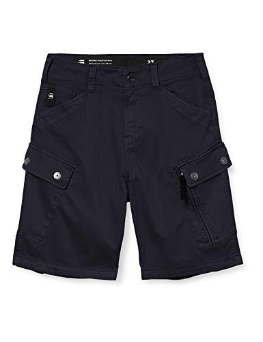 G-STAR RAW Mens Roxic Shorts, Mazarine Blue gd C096-B567, 33W