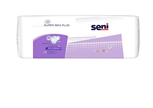 Super Seni Plus extra large (3 x 30 Stk.) Windelhose Bauchumfang 130 - 170 cm bei schwerer Inkontinenz