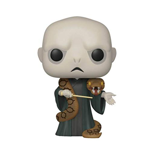 Funko Figura de Harry Potter Lord Voldemort con Nagini Pop No. 85 Vinilo 10cm