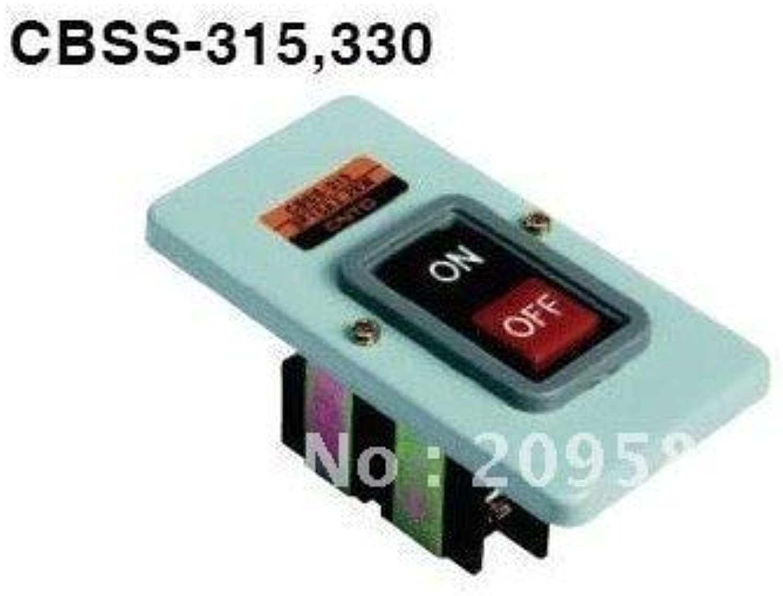 5pcs TBSS315(CBSS315) 3P Power Pushbutton Switch 15A 2.2KW