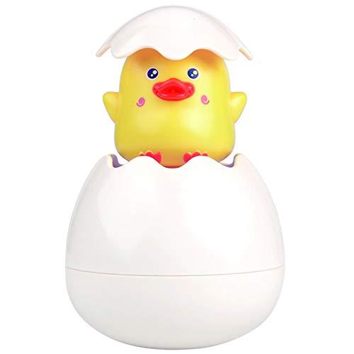 Nuovo uovo di Pasqua baby shower nuoto spruzzatore giocattolo acqua spruzzatore giocattolo bagno piccolo anatra gialla giocattoli per bambini ragazzi ragazzi ragazze bambini
