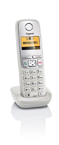 Teléfono inalámbrico Gigaset A400H gris claro con base para cargar teléfonos A400/A400A