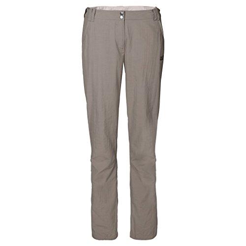Jack Wolfskin - Hose Kalahari Pants W - Pantalon - Femme - Beige (Moon Rock) - Taille: 38