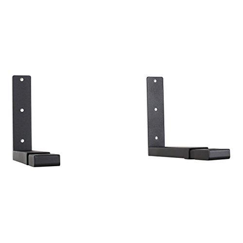 Elektronik-Star Mikrowellenhalter Mikrowellenhalterung (bis 35 kg, ausziehbar, inkl. komplettem Montagematerial) schwarz