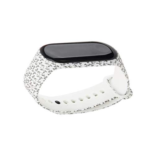UKCOCO Ersatz Chic Protective Stylish Ersatz Silikon Wriststrap Wrist Strap Wristlet für Xiaomi 3 Smart Bracelet
