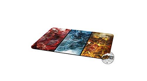 Yu-Gi-Oh Gods Obelisk Slifer RA Collage Template 2017 Master Rule 4 Link Zone Playmat TCG Playmat MTG Playmat and Free Adventure Awaits Decal