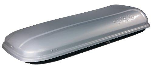 Coffre de toit FARAD BARRACUDA F1 550L gris métallisé