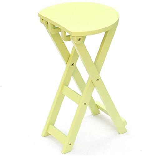 Silla Silla plegable, sillas de jardín portátiles, sillas de patio portátiles for Salon Lazy alimentación concierto Barbacoa picnic Deportes Playa ( Color : Light Green , Size : 62.5*36*24.5cm )