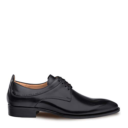 Mezlan Archway Mens Luxury Classic Cap Toe Oxford Injected Memory Foam Comfort Cushion Insole with Full Leather Outer Sole Handcrafted in Spain