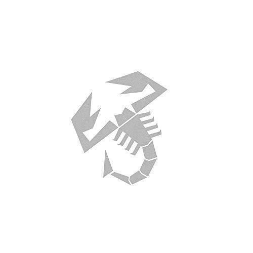Autocollant Scorpion Découpée à la Forme, Gris Argenté, 120 mm