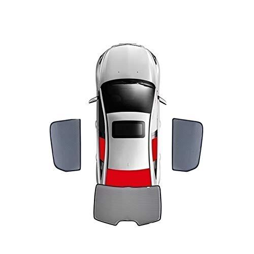 BNMH para Mazda Family Primacy Ha/Ma-2/3 323 / Cortina Magnética Especial para Ventana Parasoles De Malla Persiana Totalmente Cubierta 2016-2020 (Color : Rear 3 Windows, Size : 2020)