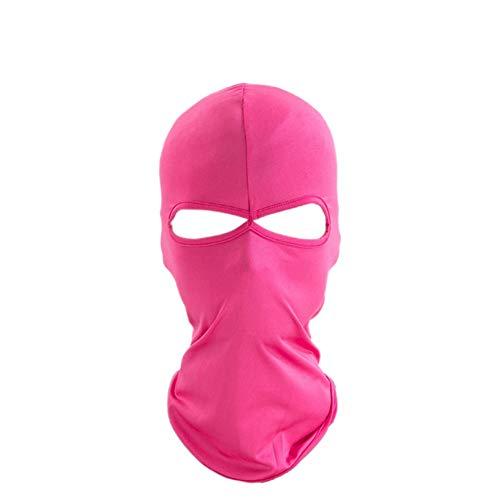 Aesy Máscara de Ciclismo, Pasamontañas Mujer Hombres Al Aire Libre Deporte Doble Agujeros A Prueba de Polvo A Prueba de Viento Motocicleta Equitación Headwear