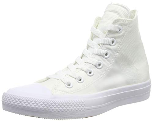 Converse Ctas Mono Hi 015470-610-8 Unisex - Erwachsene Sneaker, Bianco (Weiß), 36