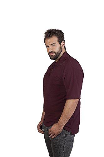 Hochwertiges Herren Poloshirt, XXXL, Burgund