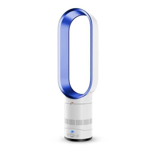 WACZJ Ventilatore Circolatore d'Aria con Telecomando Regolabile A 90° velocità Infinitamente Variabile Prima Scelta per Le Famiglie,Blu