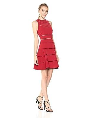 Keepsake The Label Women's Heart Beat Sleeveless Fit & Flare Dress