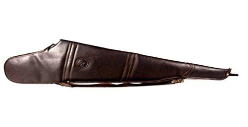 CAZA Y AVENTURA Bolsa. Funda para Rifle montado con Visor Fabricada en Piel