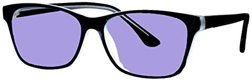 Sodium Flare Polycarbonate Glassworking Safety Glasses - Ergonomic Plastic Frame - 54/38-17-145mm