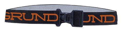 Grundéns Elastic Fishing Tool Belt, Black w/Orange Logo