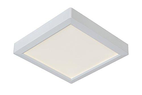 Lucide TENDO-LED - Plafonnier - LED - 1x18W 3000K - Blanc