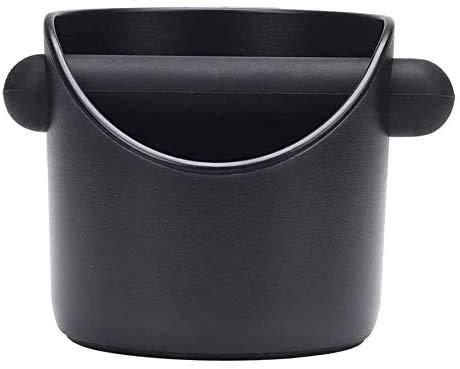 Abklopfbehälter, Ausklopfbehälter Abschlagbehälter für Barista Kaffeesatz aus dem Siebträger ABS Kaffee Tresterbehälter,Knock Box,Kaffeesatzbehälter mit abnehmbarer Knock Bar,Sage Abklopfbehälter