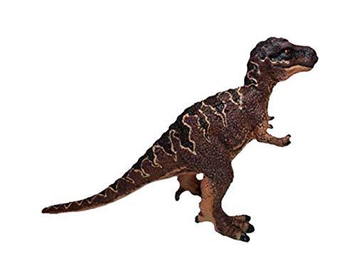 Bullyland 61314 - Spielfigur, Mini Dinosaurier Tyrannosaurus Rex, ca. 5,9 x 10 cm, ideal als Torten-Figur, detailgetreu, PVC-frei, tolles Geschenk für Kinder zum fantasievollen Spielen