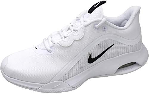 Nike Court Air Max Volley, Scarpa da Tennis Uomo, Weiß Schwarz, 42 EU