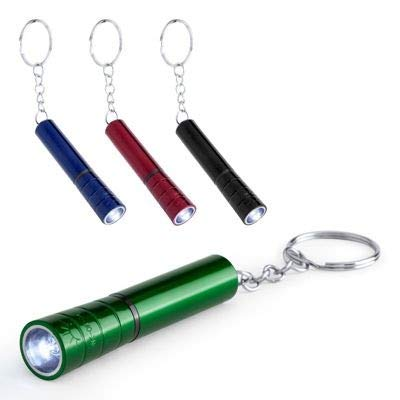 Lote de 50 Linternas Llavero LED con Pilas Incluidas - Linternas Muy Baratas, Linternas en Oferta, OutletBodas. Recuerdos, Regalos y Detalles para Invitados de Bodas, Para Adultos e Infantiles