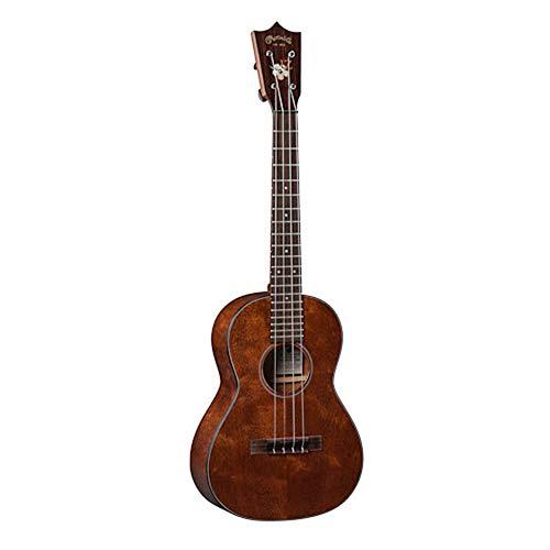 Martin Guitar 1T IZ Acoustic Ukulele with Hard Case, Genuine Mahogany Construction, Satin Finish, Tenor Ukulele Neck Shape with Standard Taper