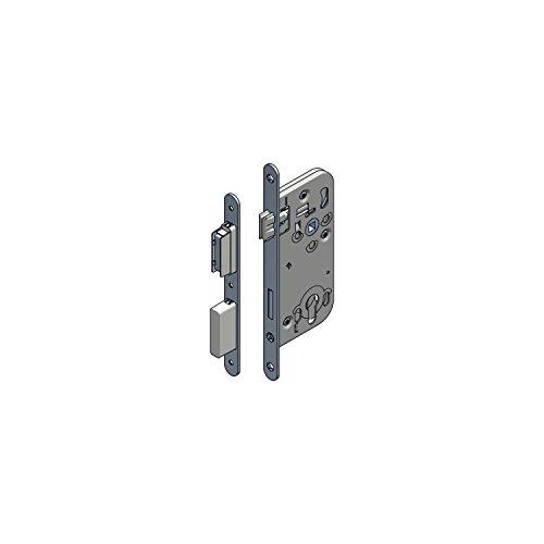 Magnetfallenschloss WG 320 RNM PZ ohne Schließblech, DM 50, VK 8,5 mm, 1 Stück | Beschläge Einsteckschloss / Magnetschloss