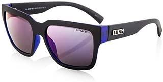 Liive Vision Beats Revo Sunglasses Matte Black Royal Blue