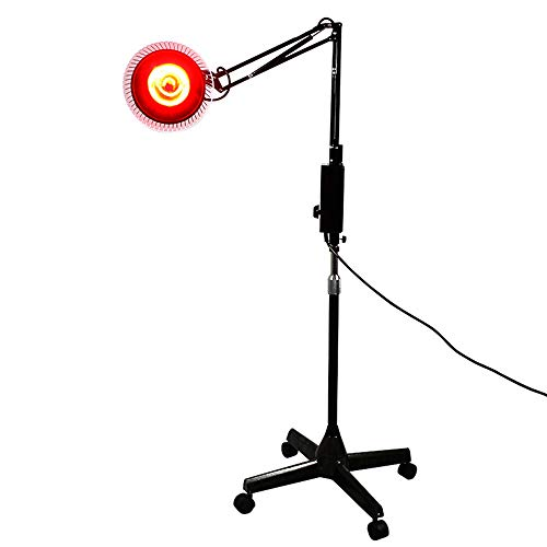 Great Features Of 100W Infrared Lamp Floor Stand Professional Light Powerful with 4 Wheels Far Infra...