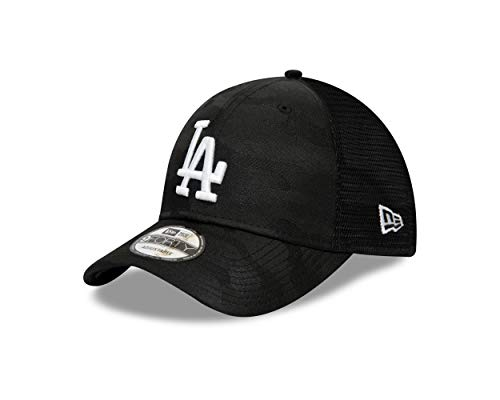 New Era Los Angeles Dodgers MLB Cap 9forty Verstellbar Basecap Mesh Kappe Schwarz - One-Size