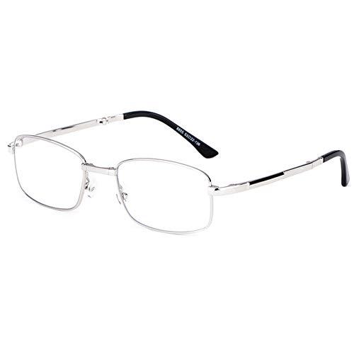 Gafas De Lectura Plegables Con Bloqueo De Luz Azul Para Hombre, Lentes De Resina De Alta Definición Para Hombre, Gafas Ópticas Portátiles Para Presbicia, Hipermetropía