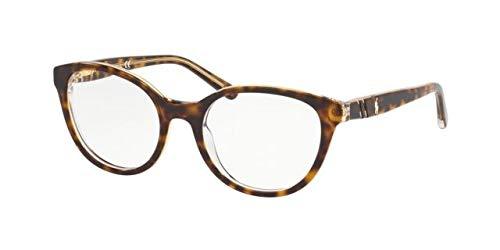 Ralph Lauren POLO 0PP8535 Monturas de gafas, Top Havana On Crystal, 49 para Mujer