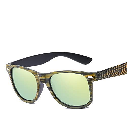 LUOXUEFEI Gafas De Sol Gafas De Sol Gafas De Sol Hombre Espejo Sunglass