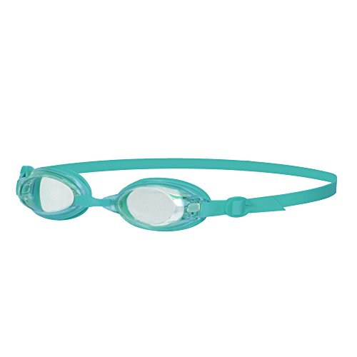 Speedo Jet Senior Womens dames UV Anti Fog zwembril - Clear/Teal