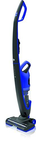 Aspiradora inalámbrica sin bolsa Dirt Devil Samurai 18, 2en 1,aspiradora de mano con batería extraíble, batería 18V de ion de litio, luz frontal LED schwarz/electric blau