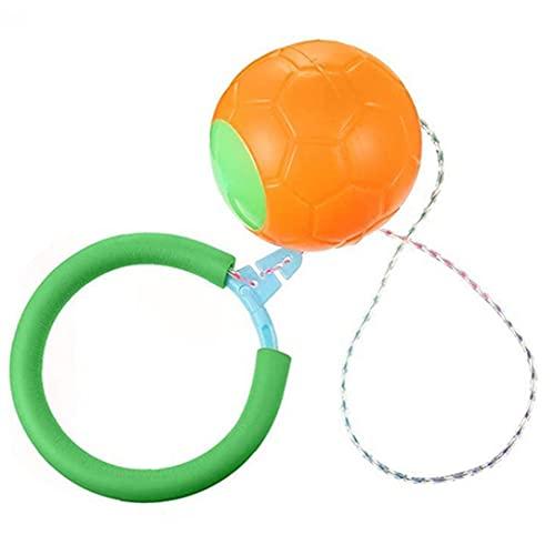 OMMO LEBEINDR Balles Balancer Saut Balancer Jouet Clignotant Roue De Saut d'obstacles Enfants Boule De Remise en Forme Saut Jouets Balle Jeux pour Enfants