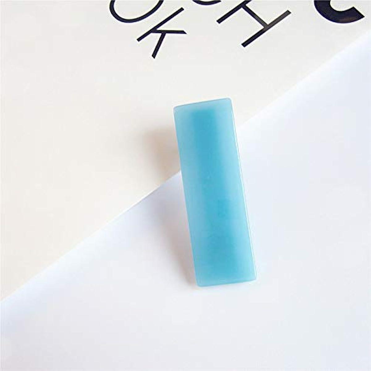 こんにちはレンダーステンレスHuaQingPiJu-JP 1 Pcシンプルなエレガントなヘアクリップファッションアクセサリー(ブルー)