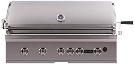 Coyote CSL42NG S-Series Grill with LED Knobs, 42-Inch