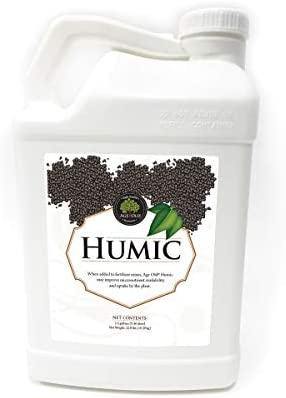 Age Old Organics 2HUM5GC Age Old Liquid Humic Nutrients Additives 2 5 Gallon product image