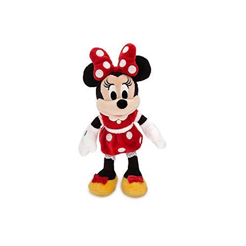 Disney Minnie Mouse Plush - Red - Mini Bean Bag - 9 1/2 Inch Multi