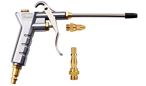 Astarye Pistola de Soplado Herramienta de Aire Comprimido con Boquilla de Extensión+1/4