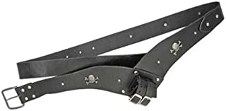Etrading Leather Medieval Sword Frog Pirate Cutlass Belt Hanger