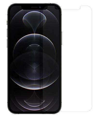 MyGadget Display Schutzfolie [Klar] für Apple iPhone 12/12 Pro - Full Screen Schutz Panzerglas Folie 9H Kristallklar - Abgerundete Glasfolie Displayschutzfolie