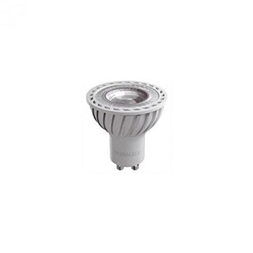 Duracell - Bombilla LED GU10-7 W, 3000 K, 500 lúmenes, 36 °