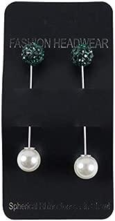 Rhinestone Ball Muslim Hijab Brooch Pin Scarf Shawl Pins For Women, MSL27-12