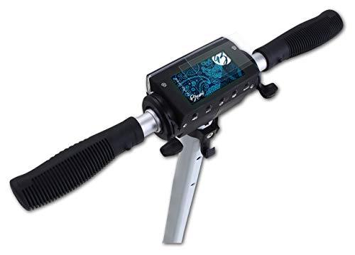 Bruni Protecteur d'écran Compatible avec eFlux Lite One Film Protecteur, Cristal Clair Écran Protecteur (2X)